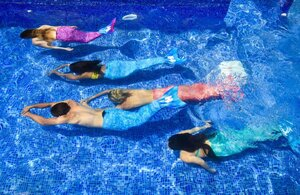 dance ballet class mermaids pool