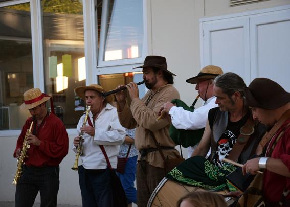 La Banda Tchok à St Symphorien (85)