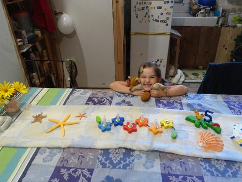 Les 5 ans de Luna-Violette...  Un anniversaire sur le thème de la mer!