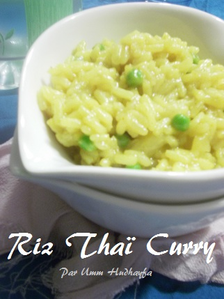 Riz Thaï Curry
