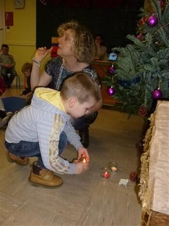 La célébration de Noël pour les Maternelles