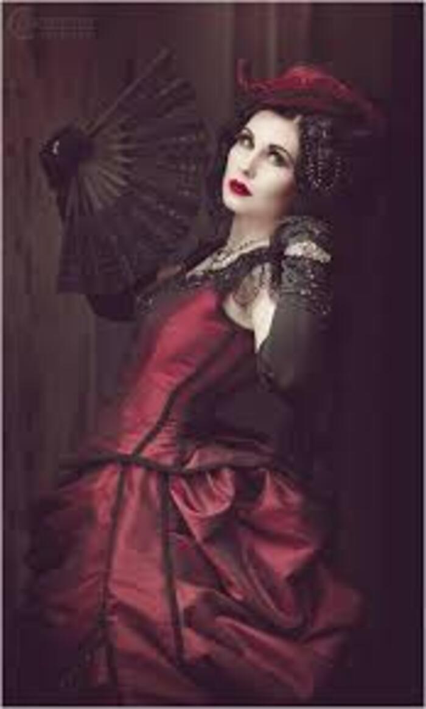 Mademoiselle Karma, modèle goth
