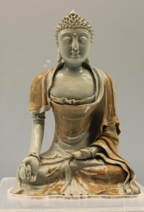Au musée de Shanghaï, Bouddhas et boddhisvatas