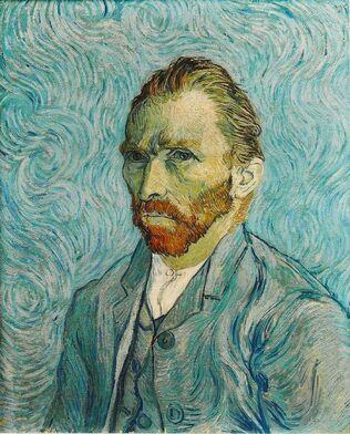Vincent Van Gogh - Post Impressionism - Self-Portrait - Autoportrait - 1889: