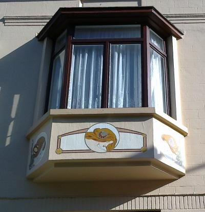 Façade de caractère à Woluwe-Saint-Lambert (Rue Solleveld n' 144)