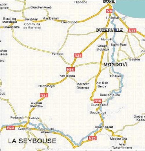 La Seybouse près de Mondovi
