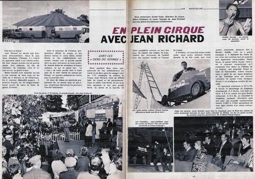 paru dans le bulletin Ricard de 1969 ( archives Thierry Baleige)