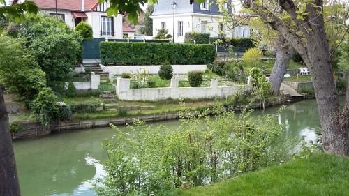le canal Polangis à Joinville le Pont