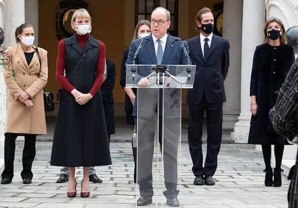 Photos divierses pour la fête nationale à Monaco