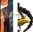 transformation de rajouts de cheveux