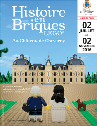 Expo LEGO au château de Cheverny