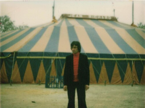 Hommage à Alain Massip chef du service publicité du cirque Jean Richard