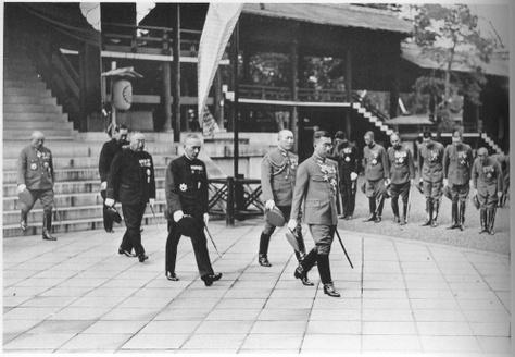le souvenirs de l'armée du japon reste toujours présent