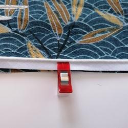 Tuto : Une housse de coussin avec biais