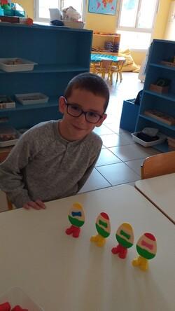 """GS - Défi mathématique """"Les Mathoeufs"""""""