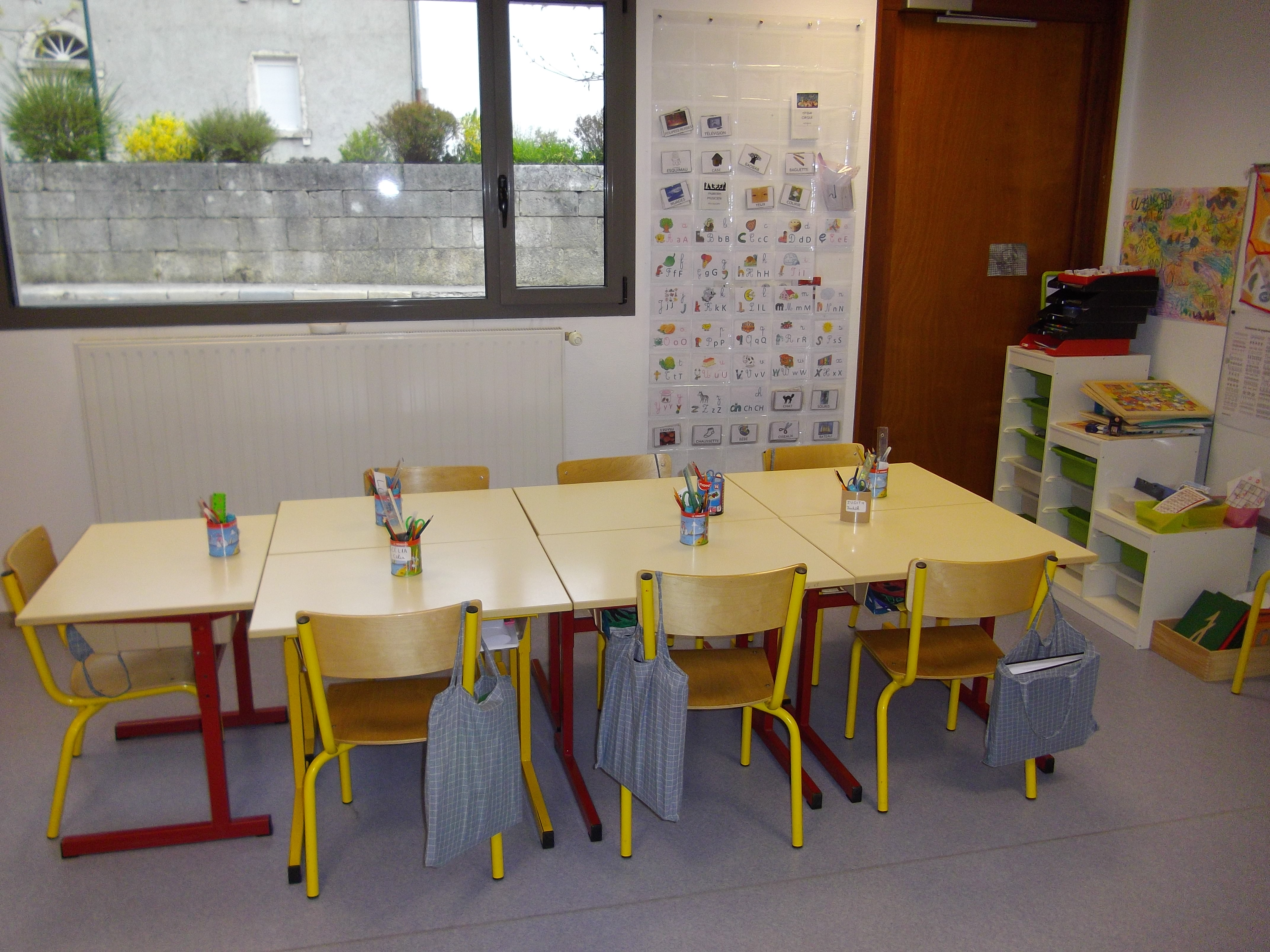 Ma classe par ici et l for Coin de table ikea