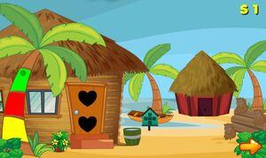 Jouer à AVM Beach hut escape