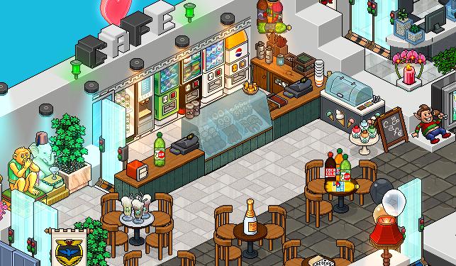 La cafétéria n'a pu de mystère