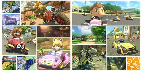 DLC Zelda et Animal Crossing pour Mario Kart 8 !!