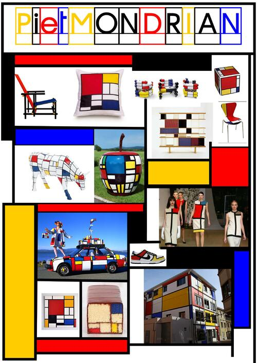Comme Mondrian...