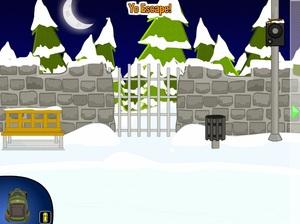 Jouer à Yo Escape - The ice rink