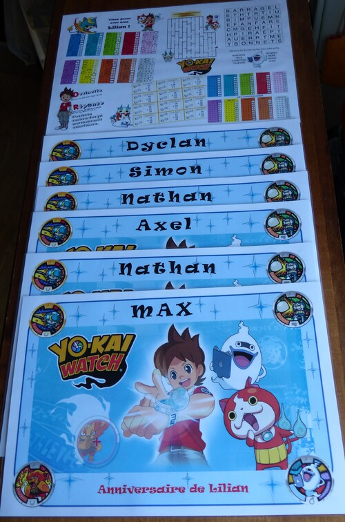Anniversaire YoKai Watch