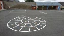 Rénovation des peintures de sols