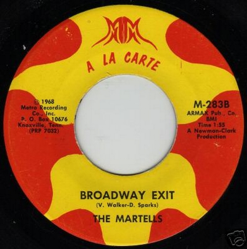The Martells : Broadway Exit