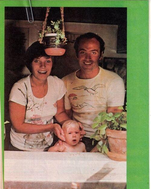 Kevin Dobson et sa famille.