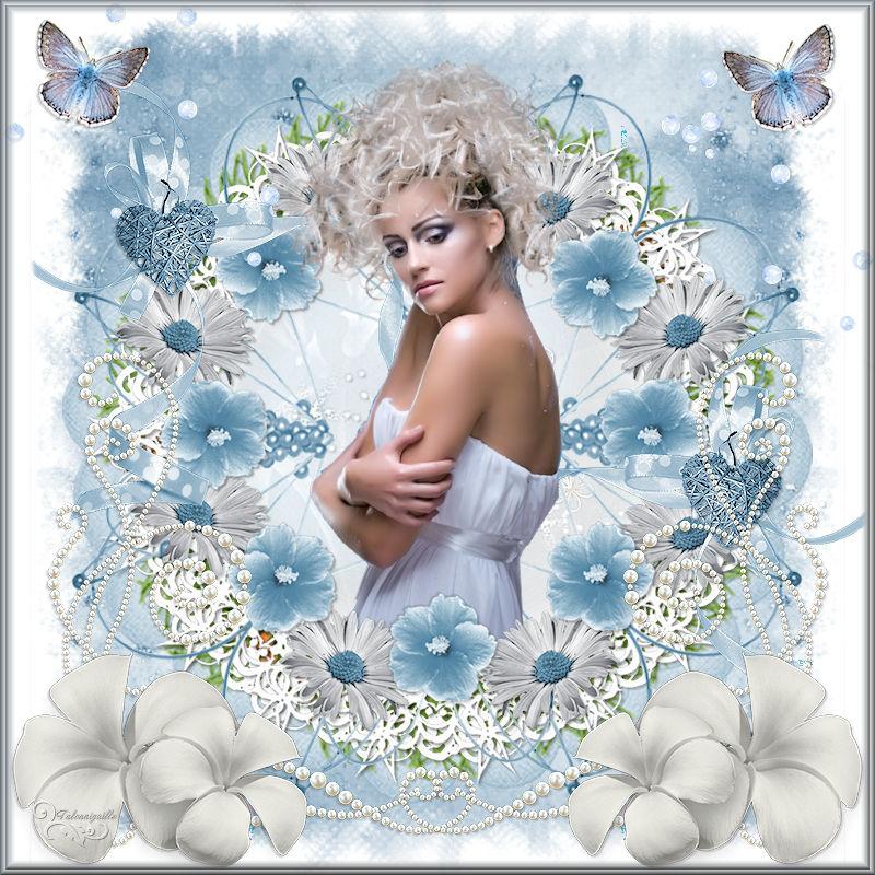 *** Bleu Blanc Douceur de l'Eté ***