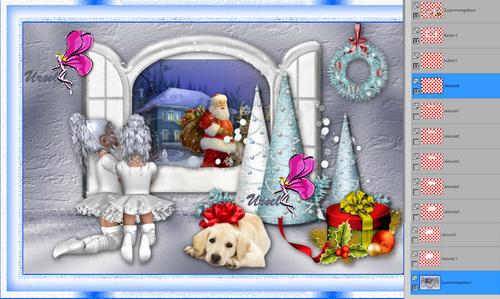 Weihnachten am Fenster