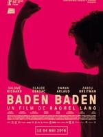 Baden Baden : Après une expérience ratée sur le tournage d'un film à l'étranger, Ana, 26 ans, retourne à Strasbourg, sa ville natale. Le temps d'un été caniculaire, elle se met en tête de remplacer la baignoire de sa grand-mère par une douche de plain pied, mange des petits pois carotte au ketchup, roule en Porsche, cueille des mirabelles, perd son permis, couche avec son meilleur ami et retombe dans les bras de son ex. Bref, cet été là, Ana tente de se débrouiller avec la vie. ...-----... Origine : Français  Réalisation : Rachel Lang (II)  Durée : 1h 39min  Acteur(s) : Salomé Richard,Claude Gensac,Swann Arlaud  Genre : Comédie dramatique  Année de production : 2016  Critiques Spectateurs : 3,7
