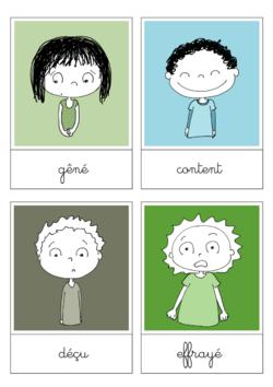Rédaction : les sentiments et les émotions