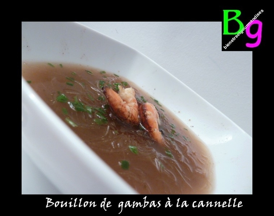 gambas cannelle