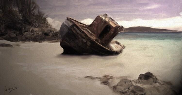 Ruine de bateau