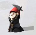 Gnome N'ayez pas peur du Faucheur