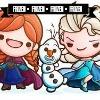 Pour info, le texte de cet icone est: Frozen • Frozen • Frozen • Frozen
