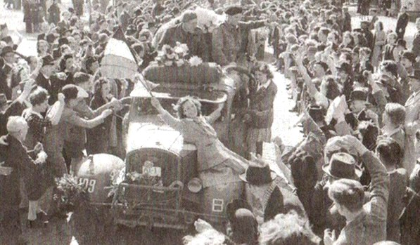 1940-1945 - La Brigade Piron libératrice de Bruxelles.