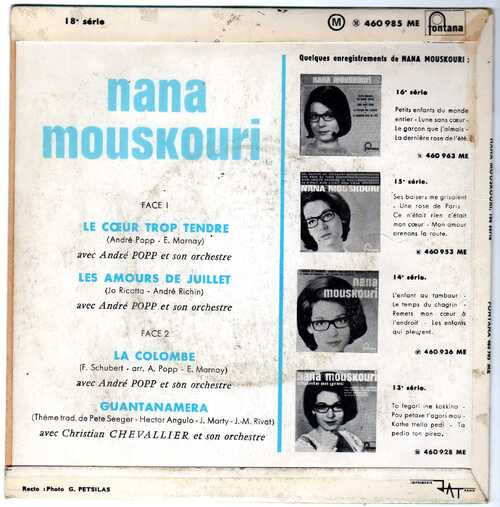 Nana Mouskouri - Les Amours De Juillet (1966) 02