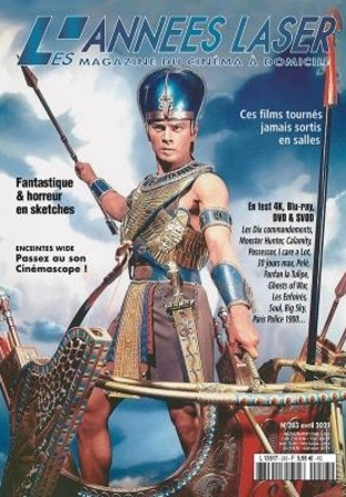 "Les Années Laser N° 283 Avril 2021 Le Magazine DVD, Blu-Ray, Home Cinéma ""Magazine"""