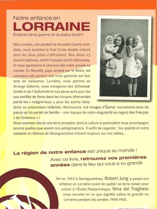 Enfance en Lorraine.