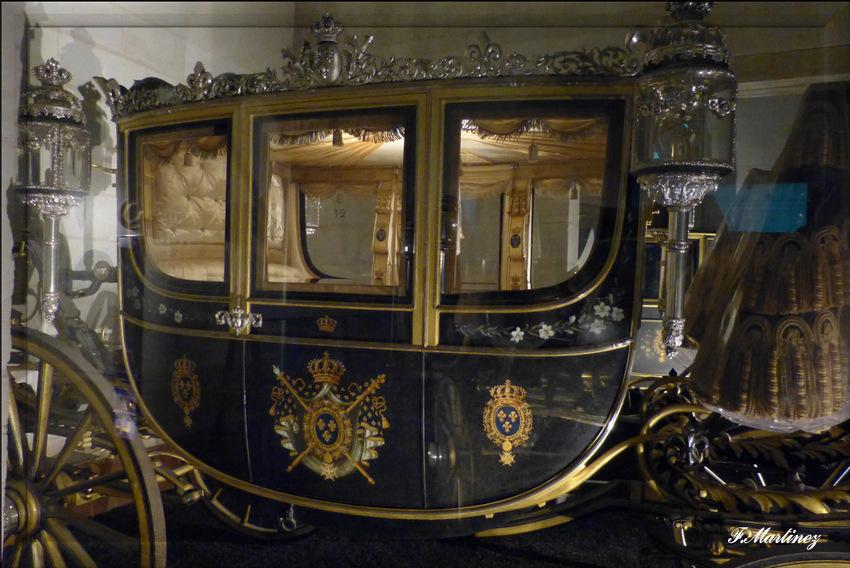 Carrosse Binder et sellerie Hermès réalisées pour le comte de Chambord en 1871