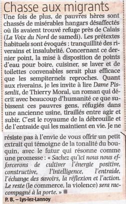 Dame Pissenlit - Brève dans la Voix du NOrd grâce à Pierre Bouvart