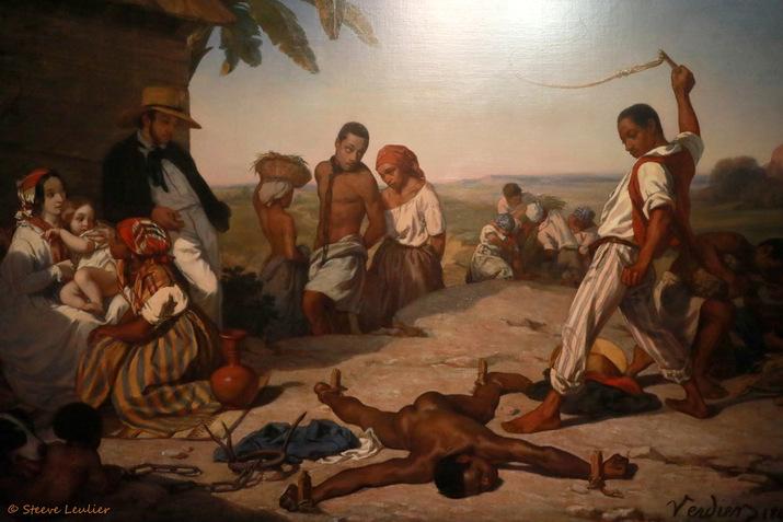 Le Châtiment des quatre piquets dans les colonies 1843