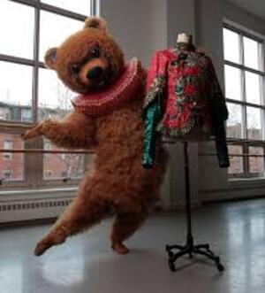 dance ballet class bear dancing