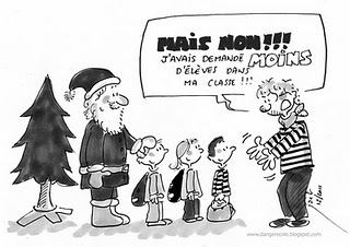 Noël des profs