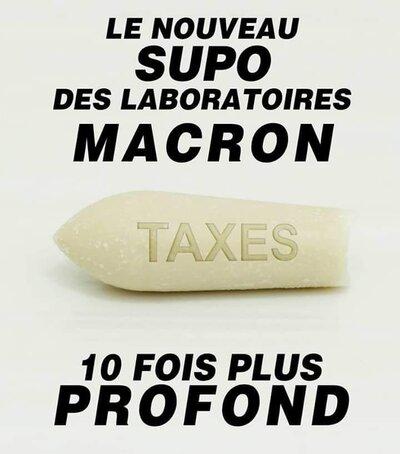 Macron et les Gilets Jaunes, on en parle sur le net.