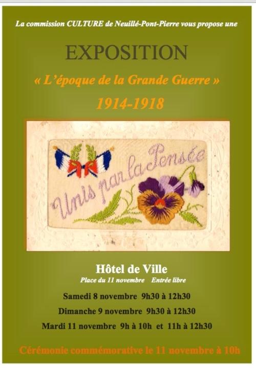 MEMOIRE DE L'EPOQUE DE LA GRANDE GUERRE 14/18