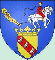 Alsace route des vins de Bergheim à Bernardswiller Saint-Hippolyte armoiries