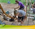 2015 - James (Pays de Galle) et Gerard (Catalogne) se fabriquent des cuillères en bois.